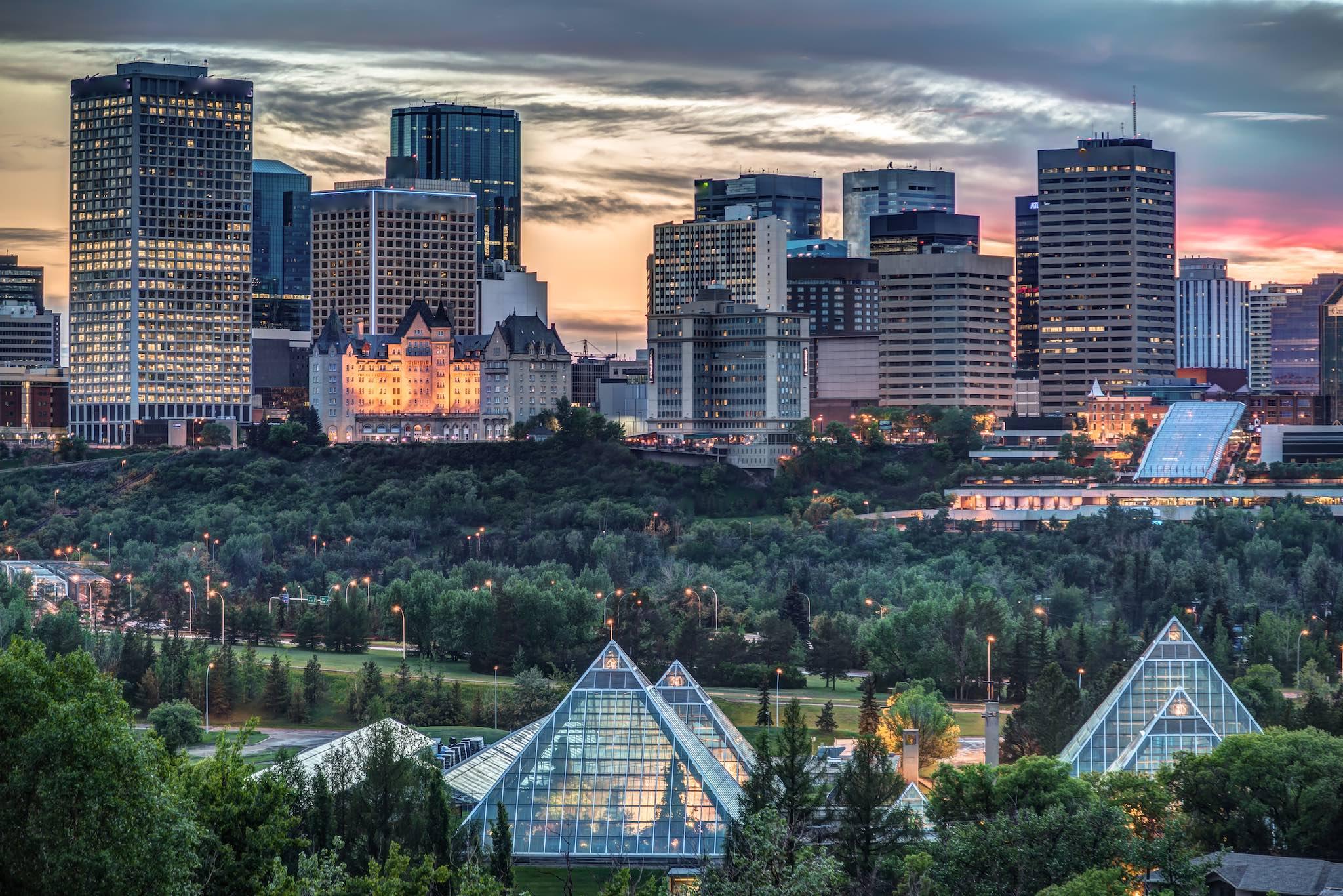 Edmonton overview